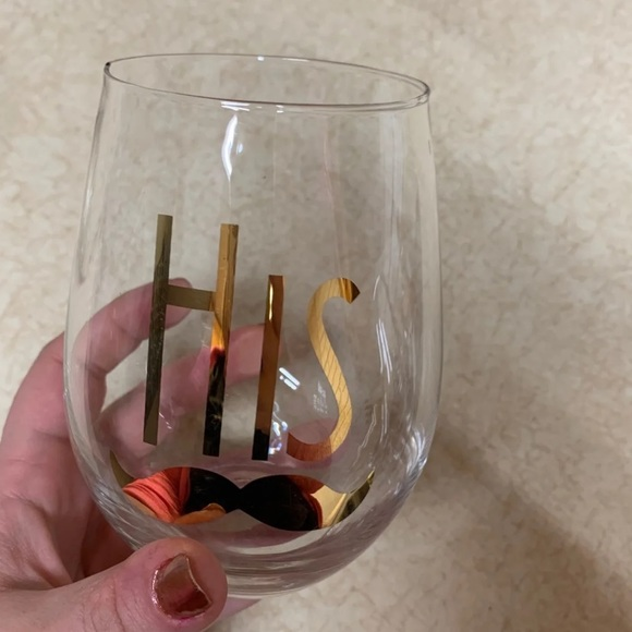 Other - His and Hers wine glasses